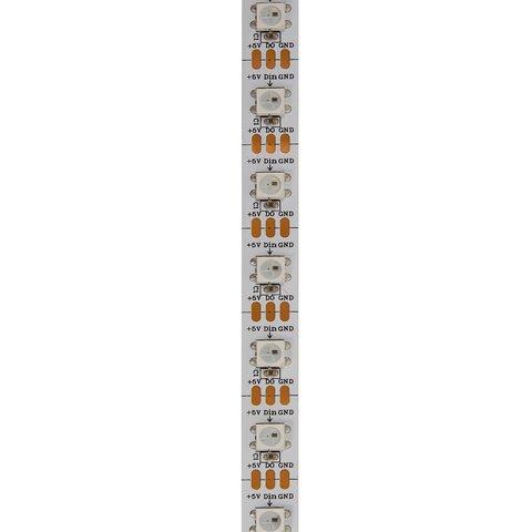 Светодиодная лента SMD5050, WS2812B (белая, с управлением, IP20, 5 В, 60 диодов/м, 5 м) - Просмотр 2