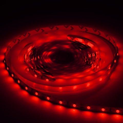 Світлодіодна стрічка SMD3528 (червона, 60 світлодіодів, 12 В DC, 1 м, IP20) Прев'ю 2
