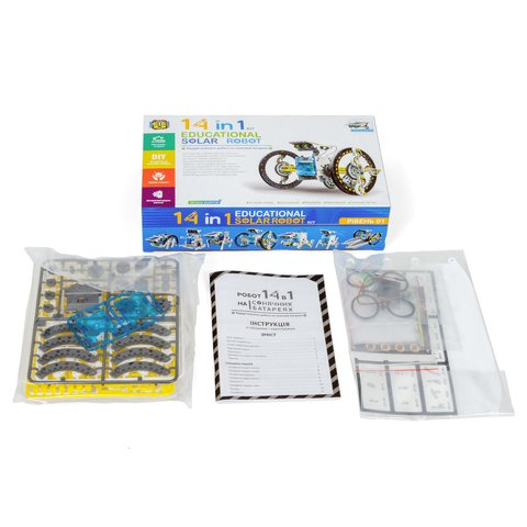 Educational Solar Robot Kit 14 in 1 CIC 21-615 Preview 16