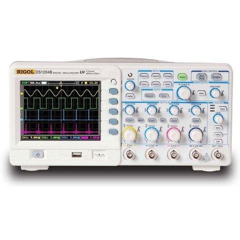 Digital 4-channel Oscilloscope Rigol DS1064B Preview 3